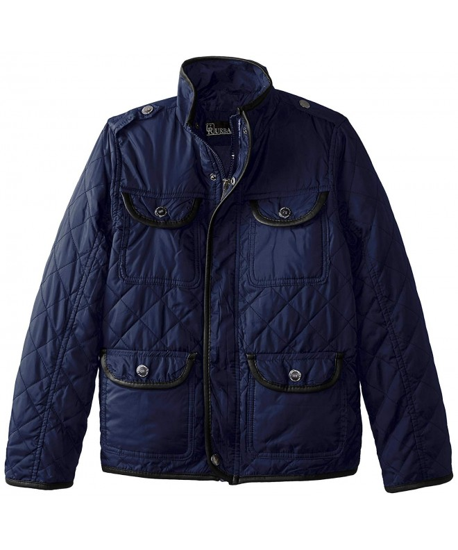 Urban Republic Boys Quilted Leather