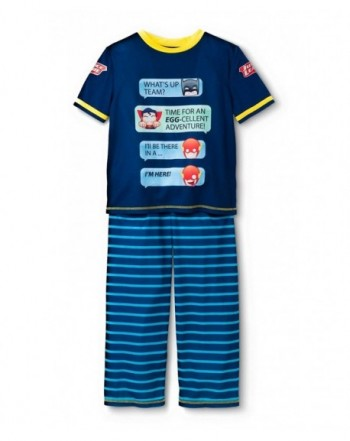 Justice League Boys Pajama X Small