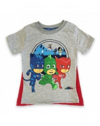 PJMASKS Catboy Owlette Sleeve T Shirt