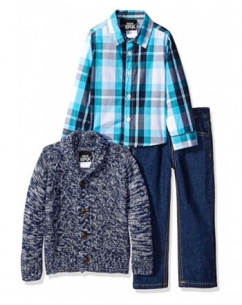 Boys Rock Toddler Sweater Cable