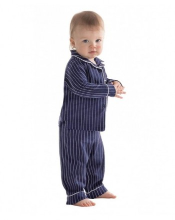 PajamaGram Toddlers Classic Button Front Pajamas
