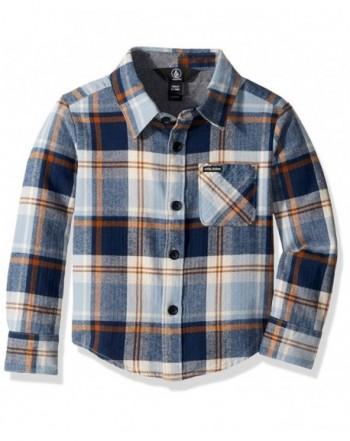 Volcom Little Sleeve Flannel Button