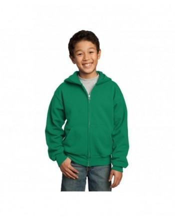 Company Youth Full Zip Hooded Sweatshirt