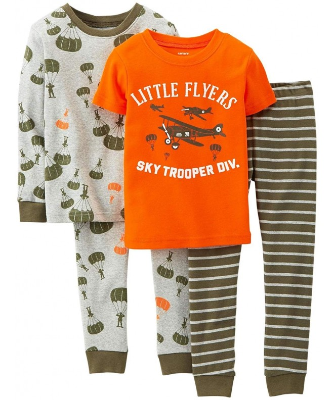 Carters Little 4 piece Pajama Airplane