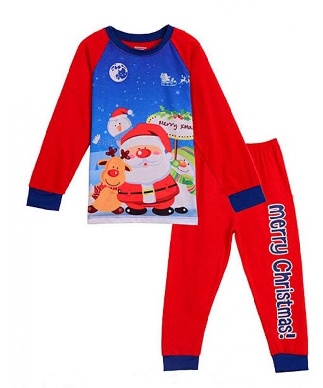GSJammies Little Christmas Sleeve Pajamas