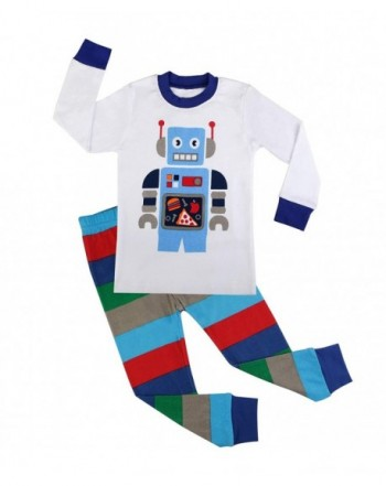 BOOPH Pajamas Toddler Cartoon Sleepwear