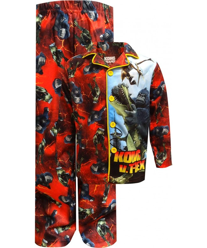 Kong King MicroFleece Pajama Sizes