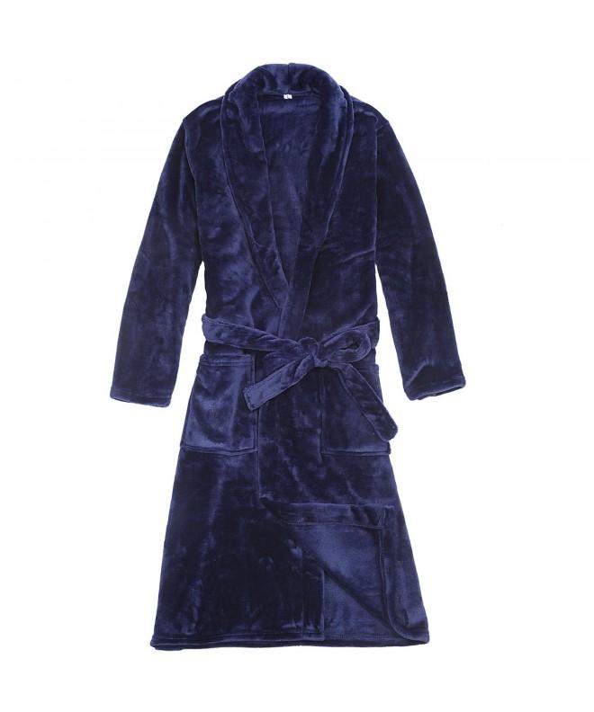 WORW Boys Solid Robes Bathrobe