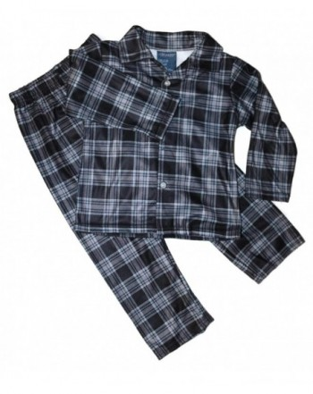 Plaid Flannel Pajama Flame Resistant