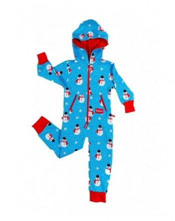 Youth Snowman Island Christmas Pajamas