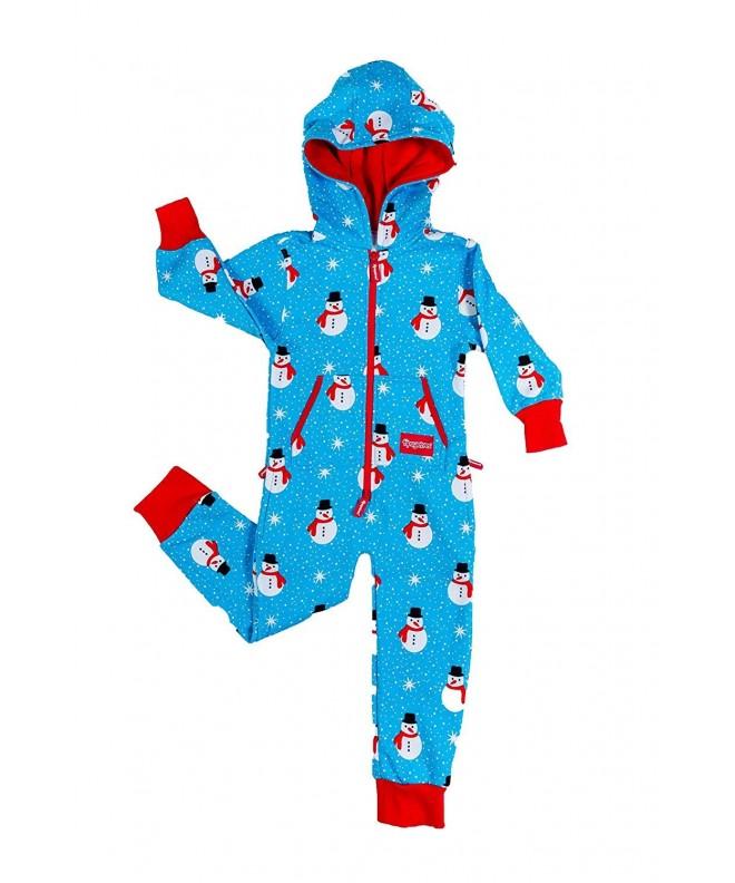 Youth Snowman Island Christmas Pajamas