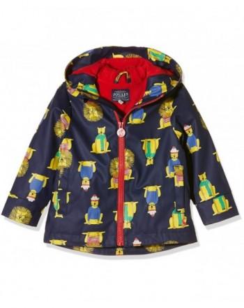 Joules Boys Skipper Rubber Coat