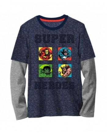 Boys Marvel Avengers Graphic Sleeve