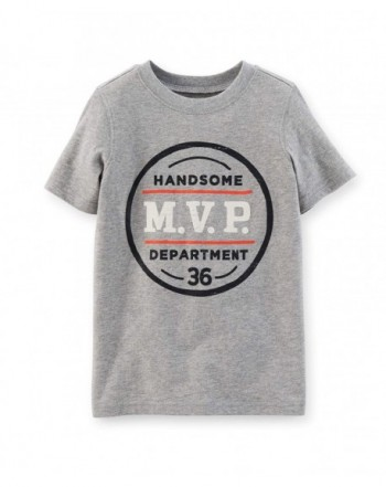 Carters Boys Graphic Tee Department