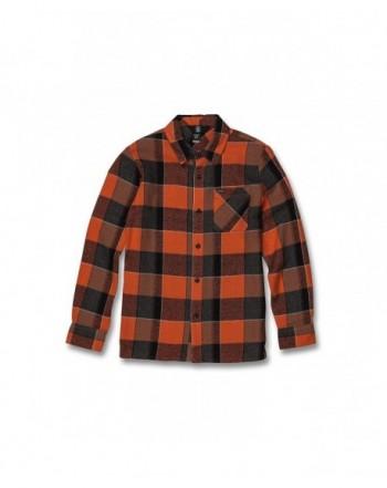 Volcom Glitch Button Sleeve Flannel