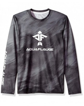 74f5a95aec60 Teen Youth L/S 100% Performance Poly Storm Tee - Grey - CZ187Y8ZUN4