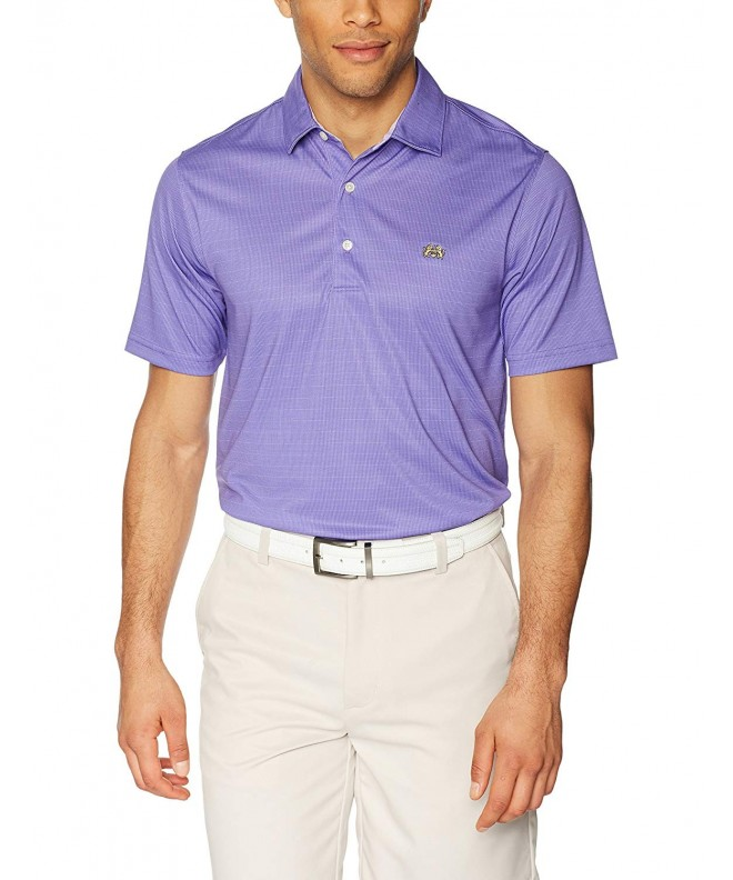 Tourney Men Textured Solid Polo