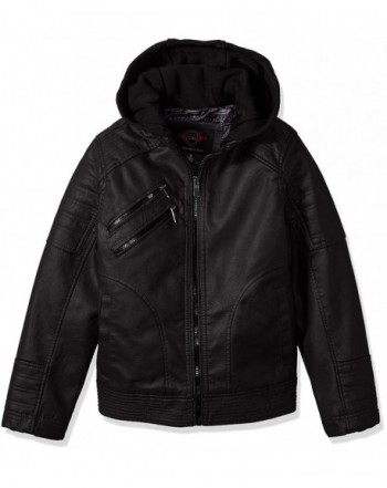 Urban Republic Artsy Leather Jacket