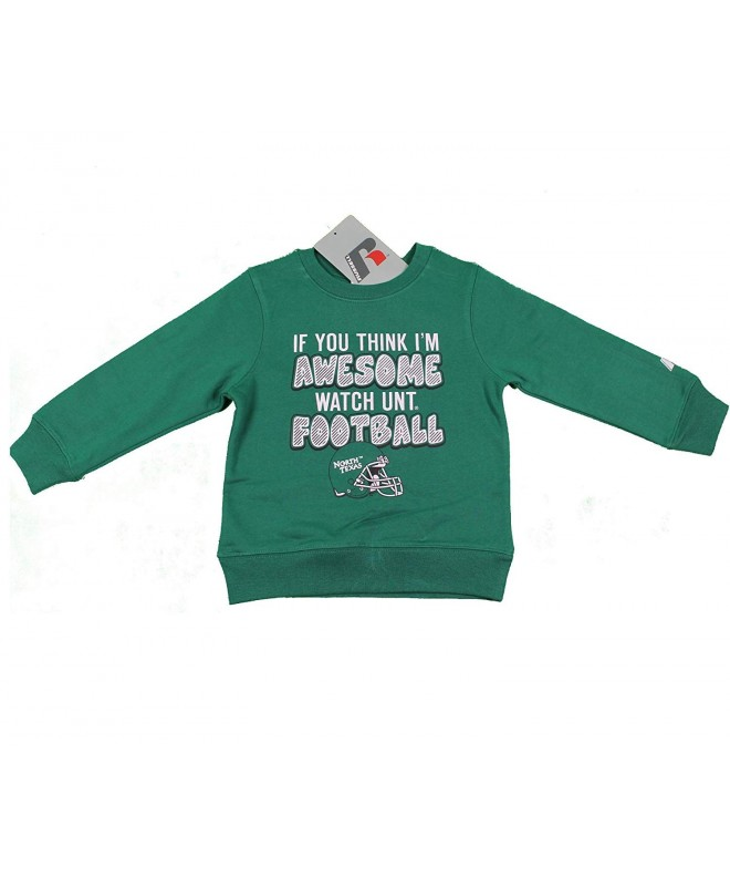 North Texas University Sweatshirt Football