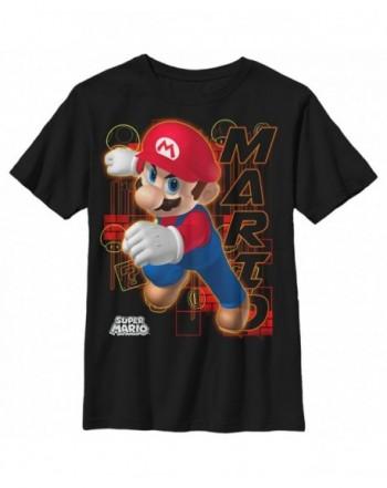 Nintendo Boys Mario Determination T Shirt