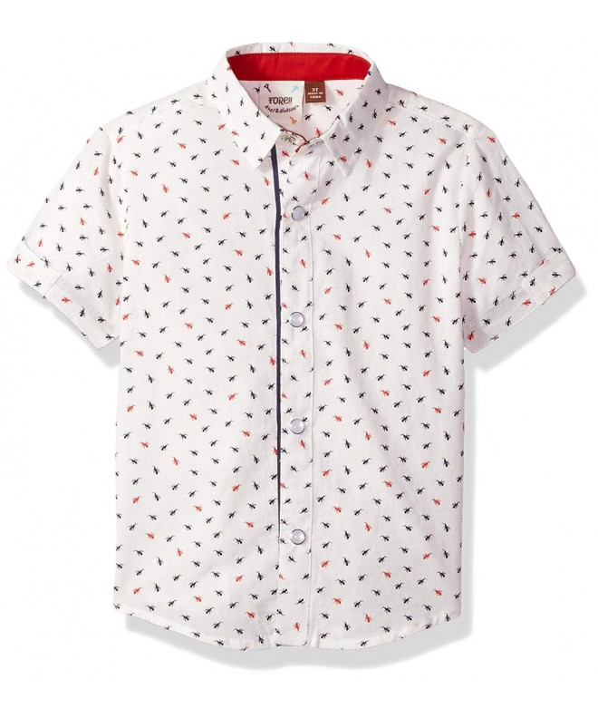 Fore Axel Hudson Print Shirt