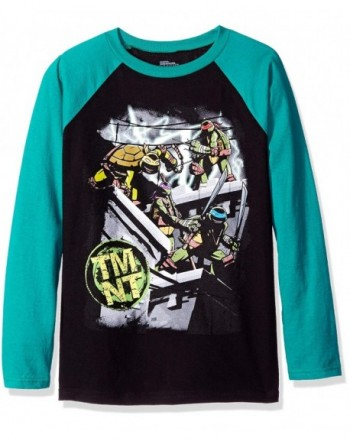Nickelodeon Action Sleeve Raglan T Shirt