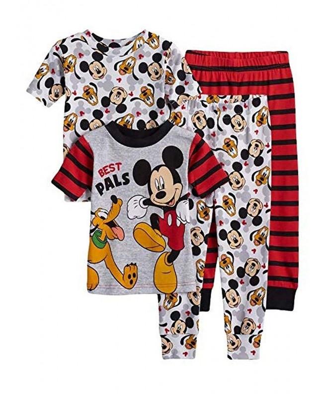 Disney Mickey 4 Piece Cotton Pajama