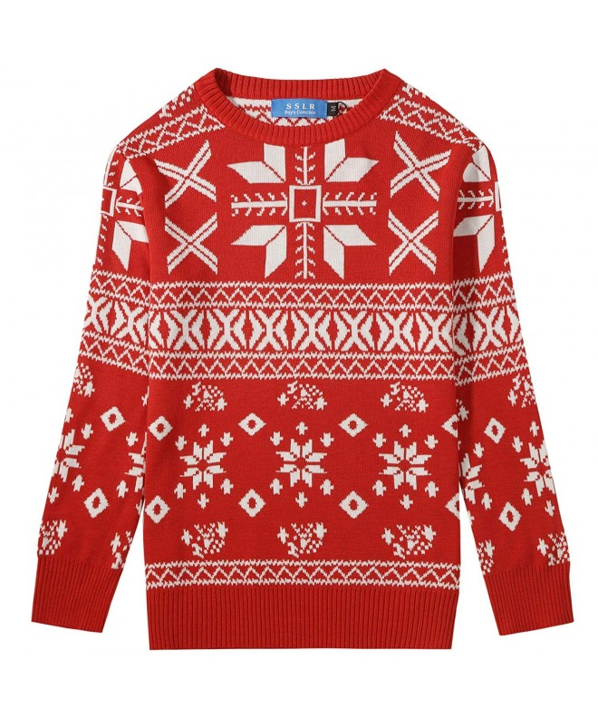 SSLR Snowflakes Pullover Christmas Sweater