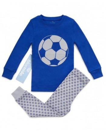 Bluenido Pajamas Soccer Basketball Cotton