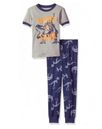 Petit Lem Boys Dinosaur Pajama