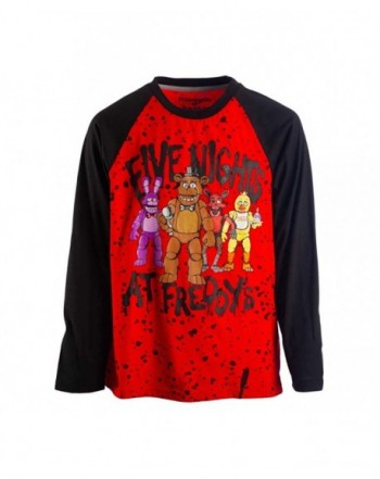 Five Nights Freddys Sleeve T Shirt