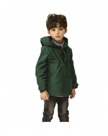 CUNYI Windproof Hooded Jacket Windbreaker