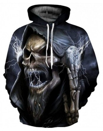 GLUDEAR Realistic Digital Pullover Sweatshirt