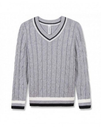 BOBOYOYO Pullover Sweater Uniform Stripes