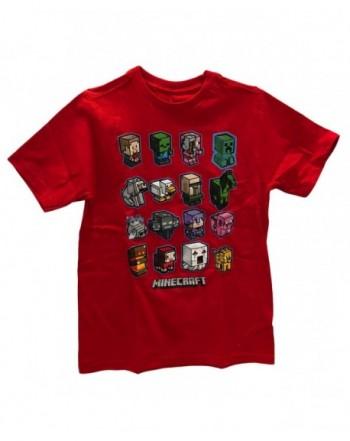 Minecraft Short Sleeve Graphic T Shirt