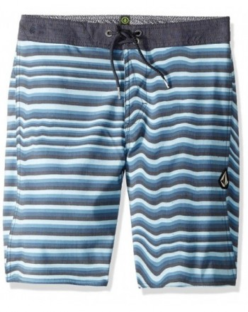 Volcom Boys Stripe Stretchy Boardshort