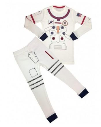 Meru Girls Unisex Astronaut Pajama