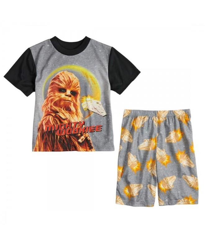 Boys Chewbacca 2 Piece Pajama Set