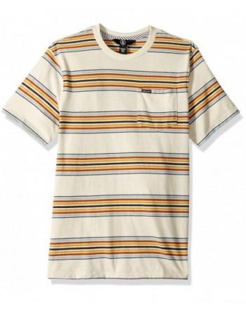 Volcom Short Sleeve Striped Pocket