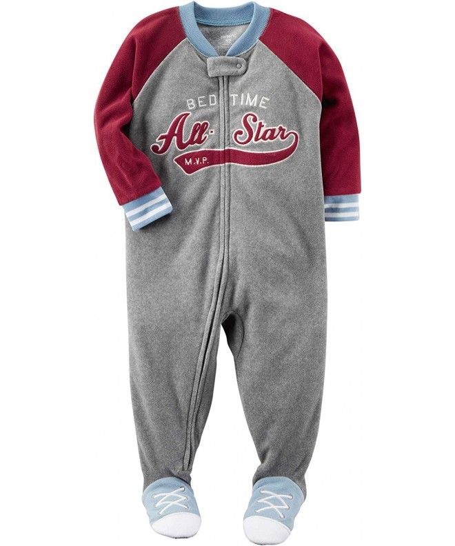Carters 12M 8 Bedtime Fleece Pajamas