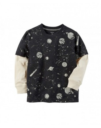 Carters 2T 4T Layered Look Space Graphic