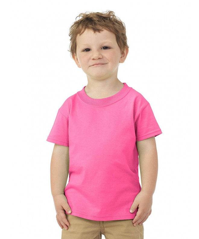 Jerzees Toddlers Cotton Sleeve T Shirt
