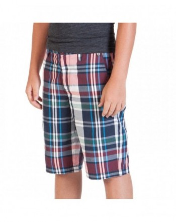 Volcom Adit Plaid Short Boys