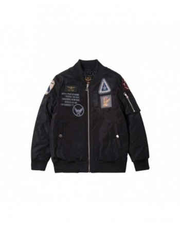 Bomber Jacket Patches Fashion Outerwear