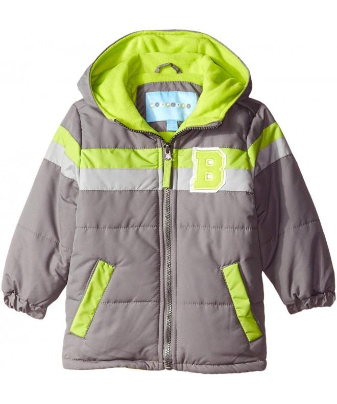 Happy Cherry Kids Down Vest Thin Hooded Zipper Up Sleeveless Jacket 3-8T