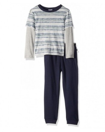 Splendid Boys Reverse Stripe Sleeve