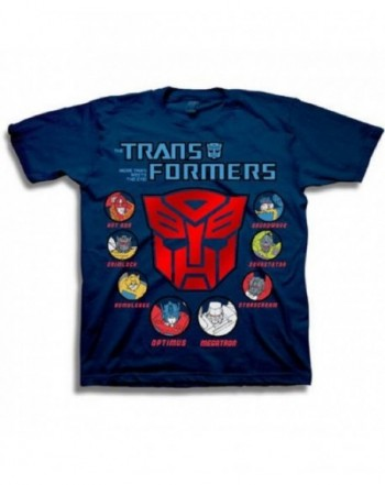 Transformers Autobots Character Graphic T Shirt