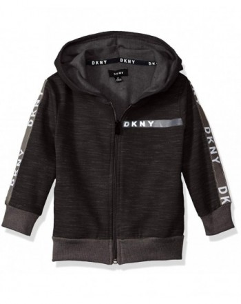 DKNY Sleeve Front Heather Fleece