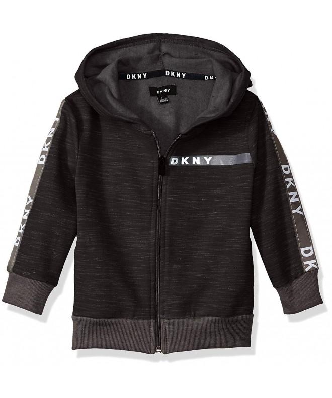 DKNY Sleeve Front Heather Fleece