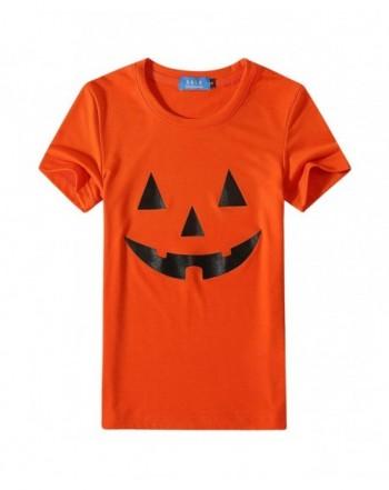 SSLR Sleeve Pumpkins Halloween T Shirt